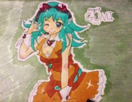Megpoid Gumi by Jasmine-Likes-Food