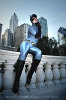 Catwoman Gotham Streets by ScorpioConceptDesign