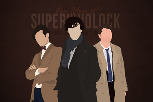 The Men of SuperWhoLock by Plumblum