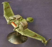 Klingon Bird of Prey 2 by Roguewing