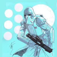 12x12 Snowtrooper SLC by Hodges-Art