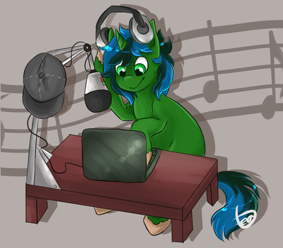 Music Pony by teabut