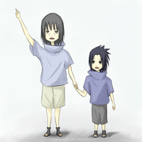 Uchiha Siblings by Nelskii