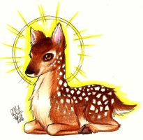 Baby Deer by Gresta-GraceM