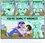YOU'RE DOING IT WRONG!!! by INVISIBLEGUY-PONYMAN