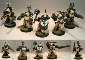 4th Company Veterans, 1st Legion, Dark Angels by Elmo9141