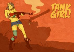 Tank Girl by irethlasombra