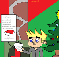 johnny test no christmas gift...again! by h-perales3