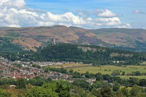 The View From Stirling Castle by AgiVega