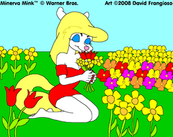 Minky Flowers by tpirman1982