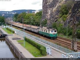 CDC 130-028 66471 Usti nad Labem Strekov 19-09-13 by Comboio-Bolt