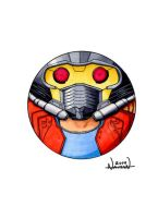 Star Lord CircleToon by Fellhauer