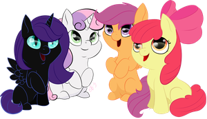 Cutie Mark Crusaders by The-Toucan