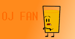 OJ Fan Button by HeaventheHedgehog8