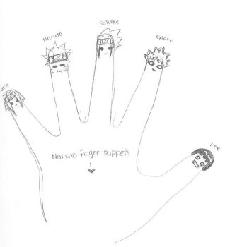 Finger.Puppets by Neffie-Kitty