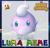 PKMNC: Luma Meme by TheLonelyQueen