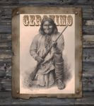 Geronimo - Pencil Drawing by denismayerjr