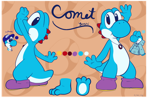 Comet ref sheet by Entin