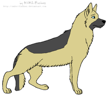 Germany as a dog by scarlet100
