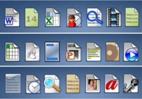 73 Doc and filetype icons by zman3