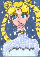 ATC-ACEO Fancy Moon by MindOfPain