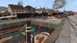 Seaside Steam Stories The Quay by bonjourmonami