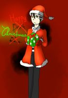 Happy...Christmas [Death the Kid] by BrambleLady