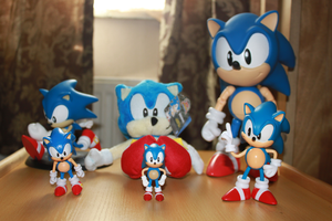 Classic Sonic collection by Vertekins