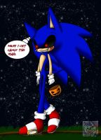 Trick 'n' Treating tonight - Sonic.EXE by SonicSonic1