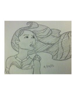 Pocahontas Sketch by wispical