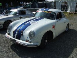 Race Prepped Porsche 356 2 by Aya-Wavedancer