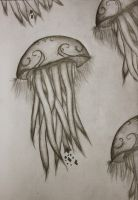 Jellyfish Detail by Draughtman