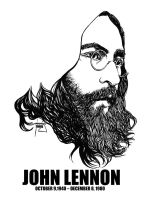 DSS No. 50 - John Lennon by gothicathedral