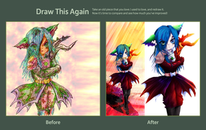 Draw This Again Contest entry by kanogt