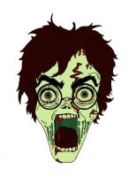Undead Harry Potter by Laura-Bosley