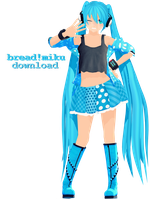 breadie!miku download ! by ThisIsBreadie