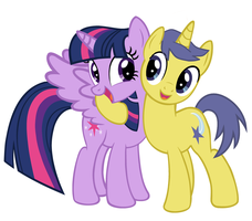 Comet and Twilight: True, True Friends by 3D4D