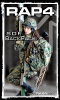 RAP4 SOF Backpack by RealActionPaintball