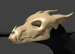 3D Monster WIP by AwesomeC99