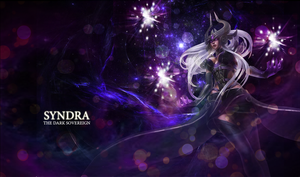 LOL Syndra wallpaper by xSilverRose