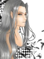 Sephiroth-One Winged Angel by KeyNight
