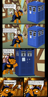 The Tardis chronicles page 1 by darkoak213
