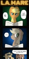 Applejack's a terrible liar. by greenland2go