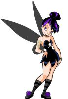 Gothic Tinkerbell by Kawaii-Jeans