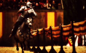 jousting - request one. by xxtheSilent