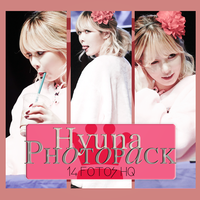 Photopack Hyuna- 4 Minute 004 by DiamondPhotopacks