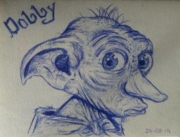Here lies Dobby, a free elf by ClassyLadyCheesecake