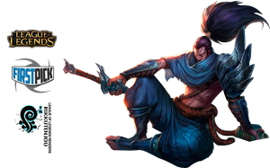 Yasuo League of Legends Render by RikkuTenjouSs