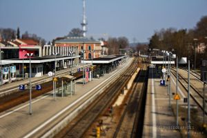 Memmingen Train Station by KimLander