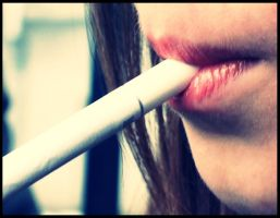 Smoke me like a cigarette.. by venigesheva